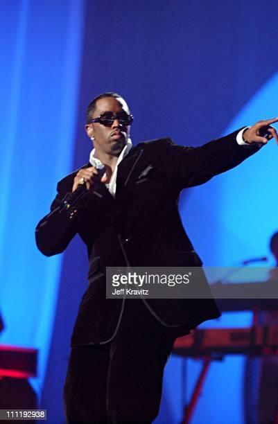 Diddy during MTV European Music Awards 2002 MTV European Music Awards 2002 at Palau Sant Jordi in Barcelona, Spain.