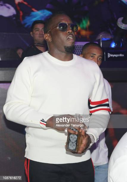 Diddy is seen performing at E11EVEN MIAMI on September 22 2018 in Miami Florida