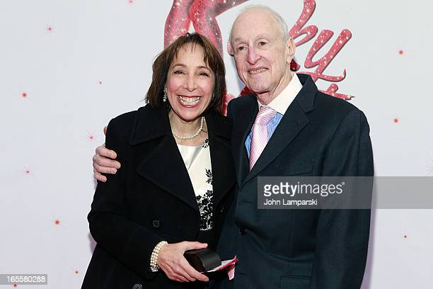 Didi Conn and David Shire attend the 'Kinky Boots' Broadway Opening Night at the Al Hirschfeld Theatre on April 4 2013 in New York City