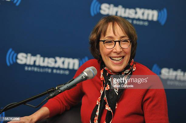 Didi Conn hosts SiriusXM's Town Hall with John Travolta and Olivia NewtonJohn at the SiriusXM studios on December 12 2012 in New York City