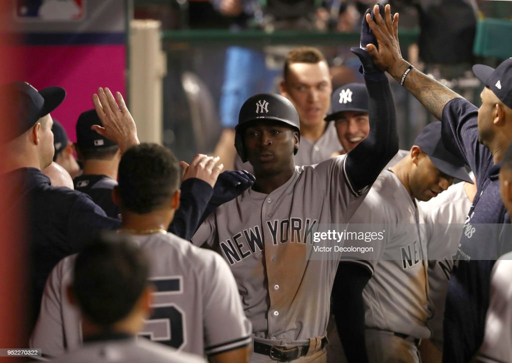 New York Yankees v Los Angeles Angels of Anaheim : News Photo