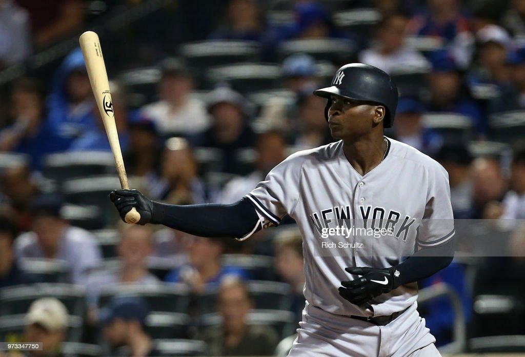 New York Yankees v New York Mets : News Photo