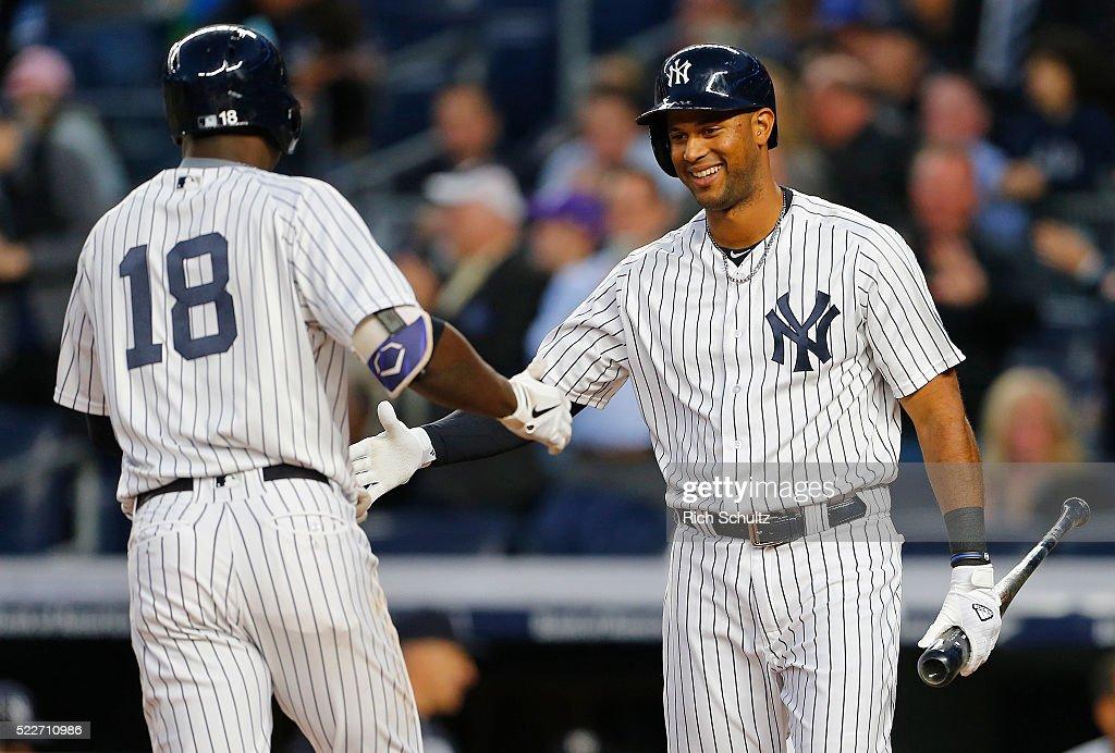 Oakland Athletics v New York Yankees : News Photo