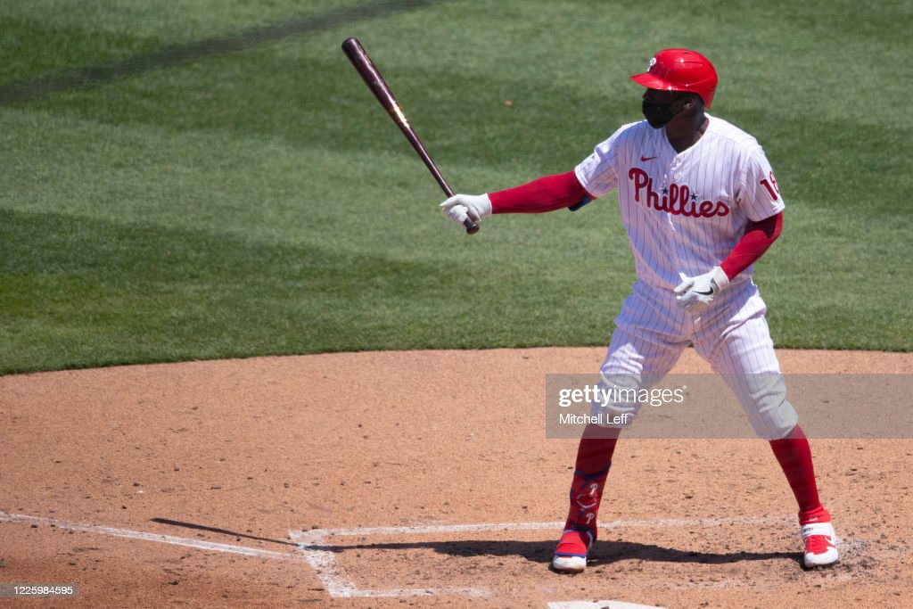 Philadelphia Phillies Summer Workouts : News Photo