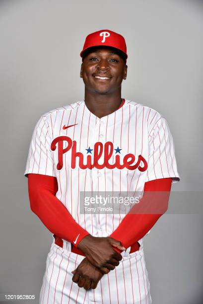 Didi Gregorius of the Philadelphia Phillies poses during Photo Day on Wednesday February 19 2020 at Spectrum Field in Clearwater Florida