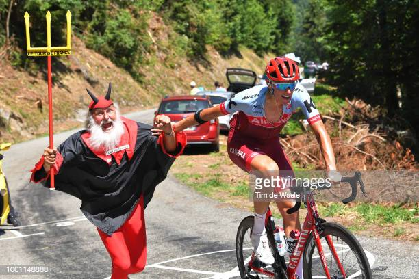Didi Senf of Germany Devil / Nils Politt of Germany and Team Katusha / during the 105th Tour de France 2018, Stage 11 a 108,5km stage from...