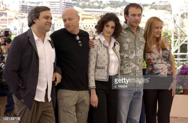 Didier Bourdon, Gerard Krawczyk, Penelope Cruz, Vincent Perez and Helene de Fougerolles