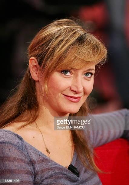 Didier Bourdon On Vivement Dimanche Tv Show In Paris France On November 22 2006 Julie Ferrier