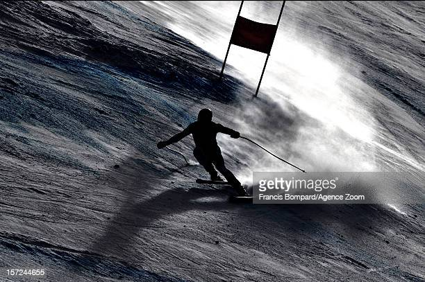 Didier Defago of Switzerland competes during the Audi FIS Alpine Ski World Cup Men's Downhill on November 30 2012 in Beaver Creek USA