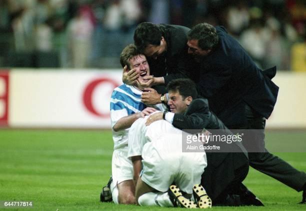 Didier DESCHAMPS Milan AC / Marseille Finale de la Ligue des Champions 1993 Photo Alain Gadoffre / Icon Sport
