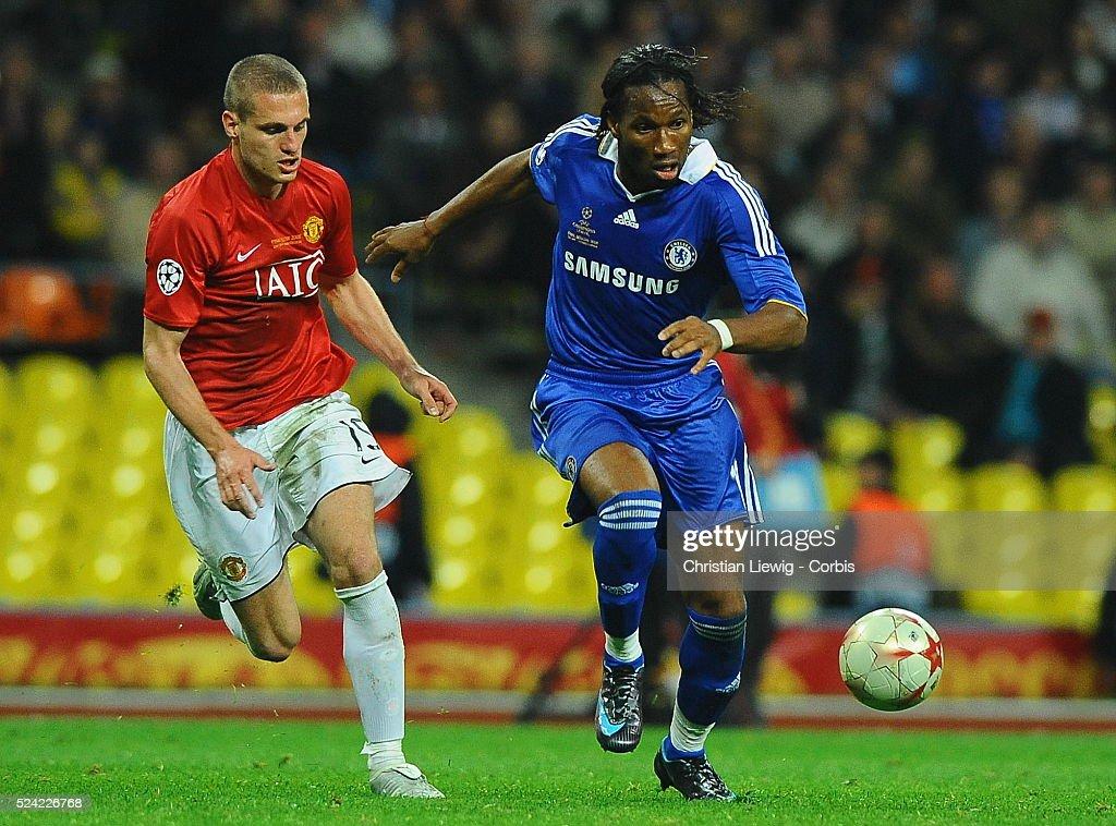 Soccer - UEFA Champions League Finals - Manchester United vs. Chelsea : News Photo