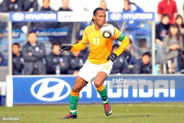 Didier DROGBA - - Cote d'Ivoire / Coree du Sud - Match amical, Loftus Road, Londres. Photo: Dave Winter / Icon Sport.