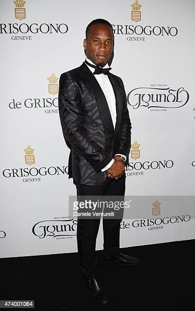 Didier Drogba attends the De Grisogono party during the 68th annual Cannes Film Festival on May 19 2015 in Cap d'Antibes France