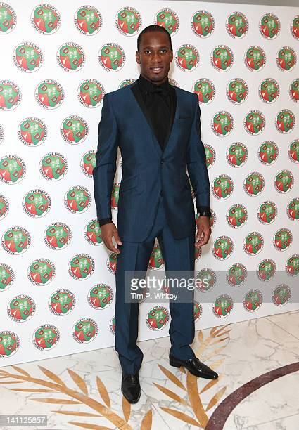 Didier Drogba attends the Didier Drogba Foundation Charity Ball at Dorchester Hotel on March 10 2012 in London England