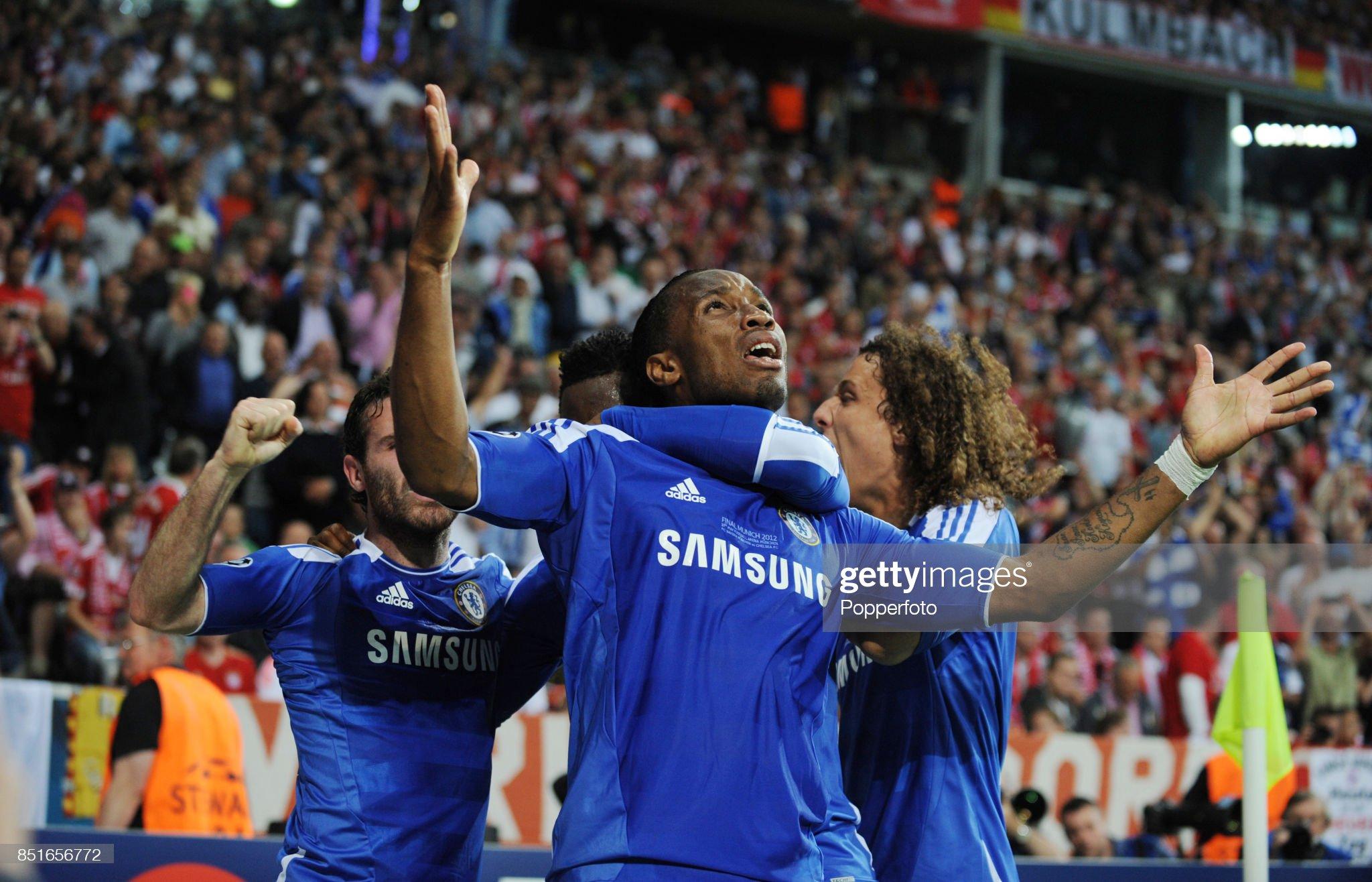 Bayern Munich v Chelsea - UEFA Champions League Final : Fotografia de notícias