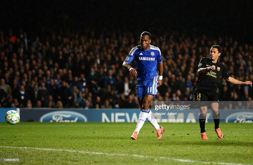 Chelsea FC v Barcelona - UEFA Champions League Semi Final : News Photo