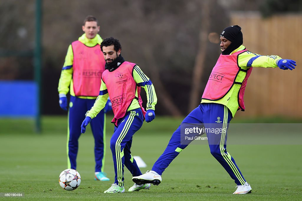 Chelsea FC Training and Press Conference : News Photo
