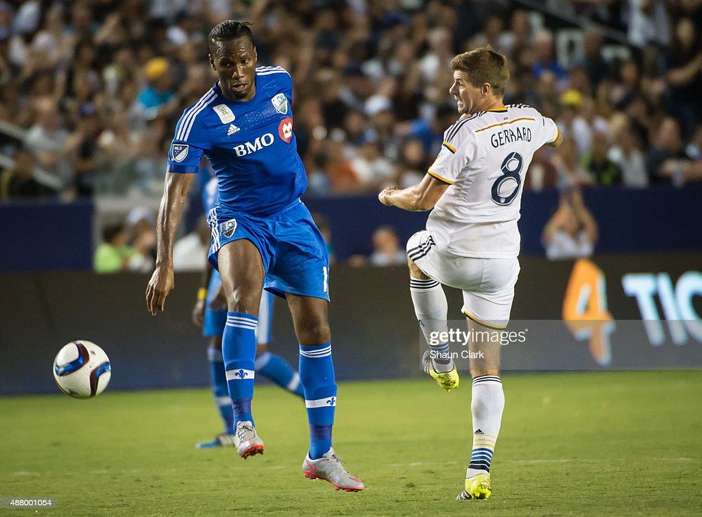 MLS Soccer - Los Angeles Galaxy v Montreal Impact : ニュース写真