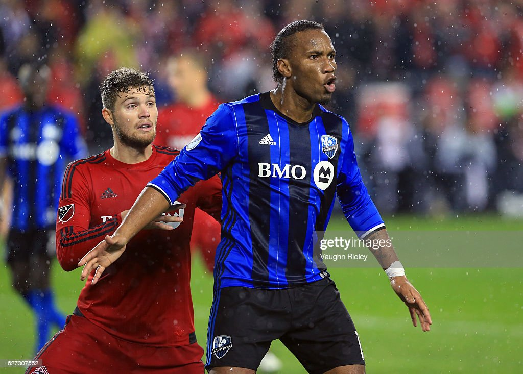 Montreal Impact v Toronto FC - Eastern Conference Finals - Leg 2 : News Photo