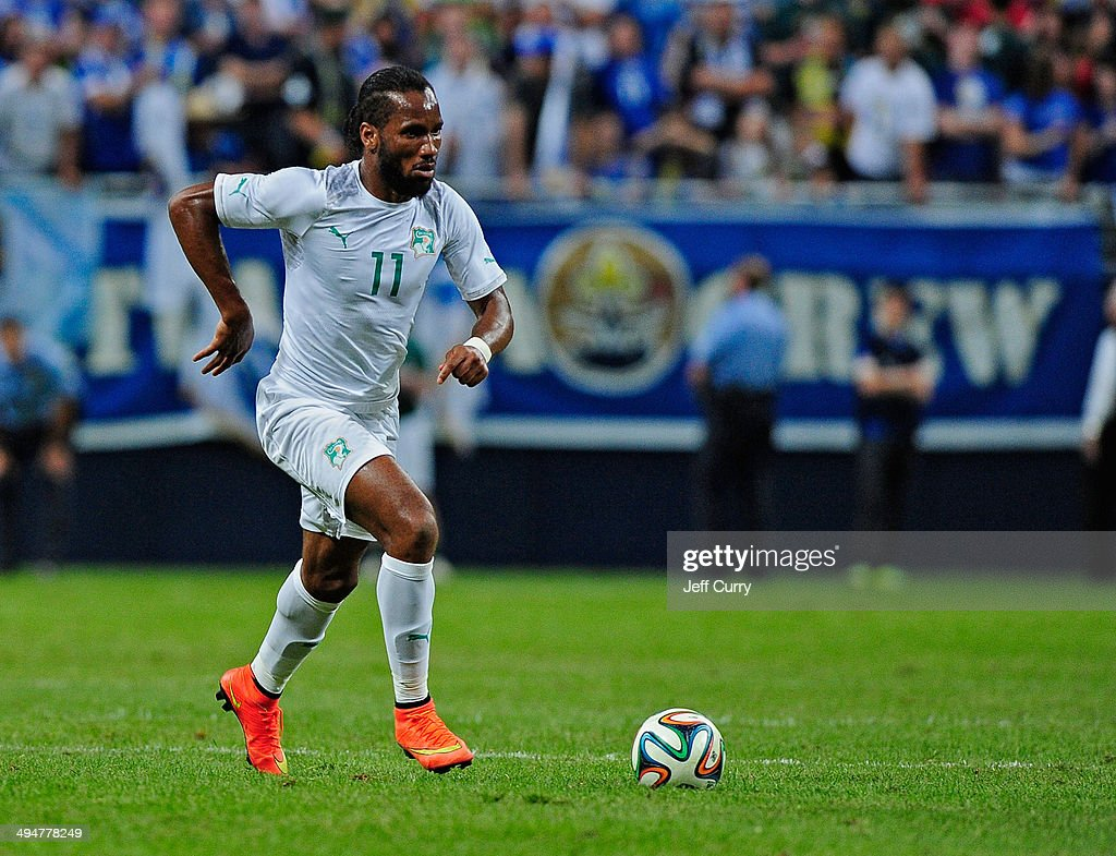 Bosnia-Herzegovina v Ivory Coast : News Photo