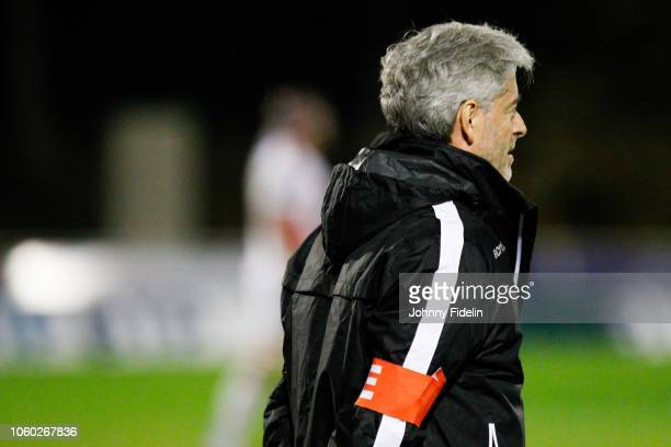Didier Faugeron head coach of Massy during the Pro D2 match between Massy and Oyonnax on November 9 2018 in Massy France
