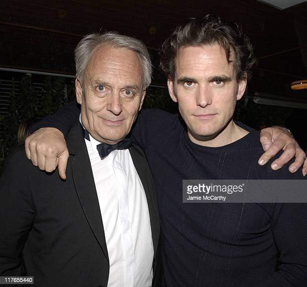Didier Flamand and Matt Dillon during 2005 Cannes Film Festival AnheuserBusch Hosts Factotum Party at AnheuserBusch Big Eagle Yacht in Cannes France