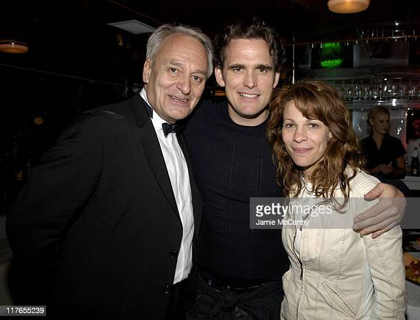 Didier Flamand Matt Dillon and Lili Taylor during 2005 Cannes Film Festival AnheuserBusch Hosts Factotum Party at AnheuserBusch Big Eagle Yacht in...