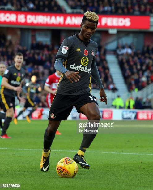 Didier N'Dong of Sunderland during the Sky Bet Championship match between Middlesbrough and Sunderland at Riverside Stadium on November 5 2017 in...