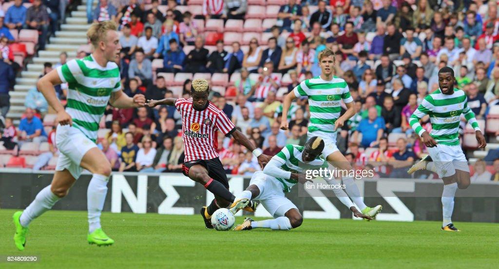 Sunderland v Celtic: Pre-Season Friendly : News Photo