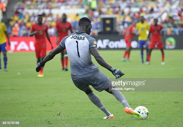 Didier Ovono of Gabon in action during the Africa Cup of Nations 2017 match between Gabon and GuineaBissau at the De l'Amitie Stadium in Libreville...