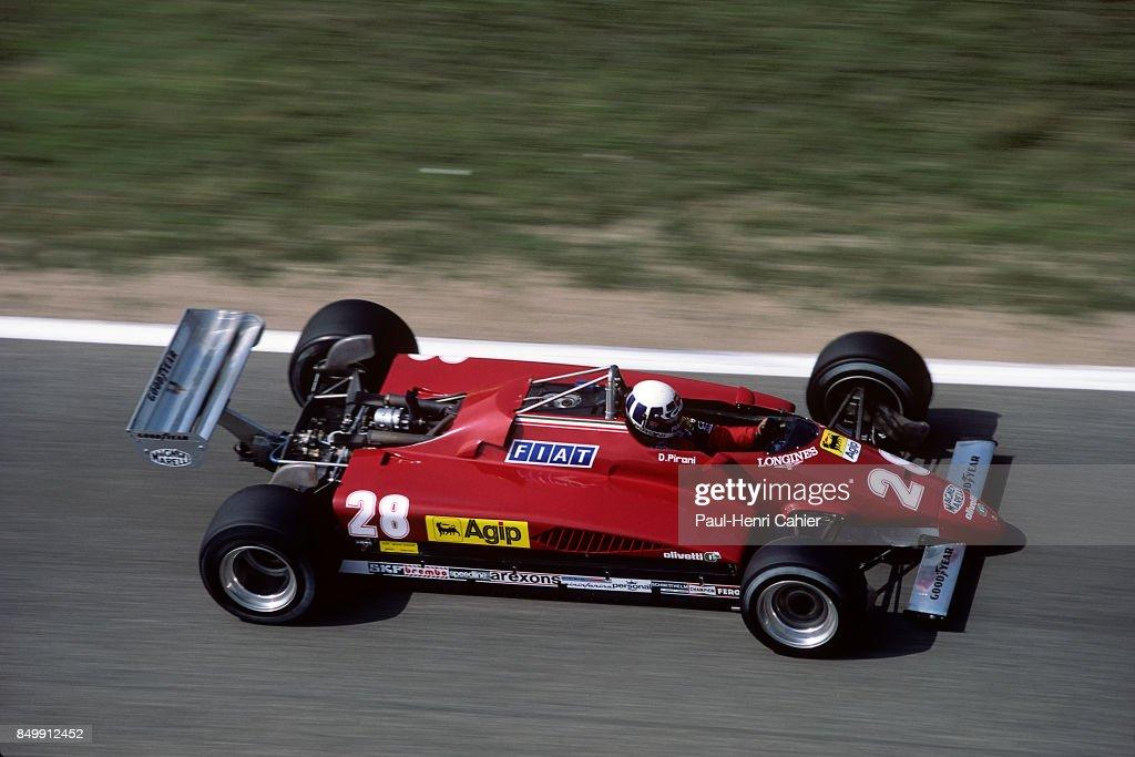 Didier Pironi, Grand Prix of Germany : News Photo