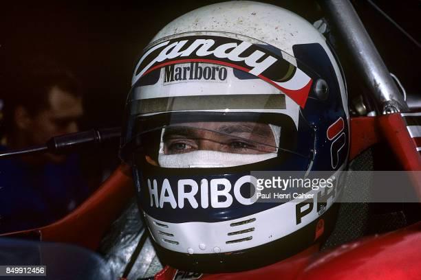 Didier Pironi, Ferrari 126C2, Grand Prix of Germany, Hockenheimring, Hockenheim, Germany, August 8, 1982.