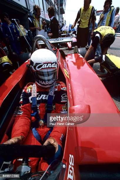 Didier Pironi, Ferrari 126C2, Grand Prix of the Netherlands, Circuit Park Zandvoort, Netherlands, July 3, 1982.