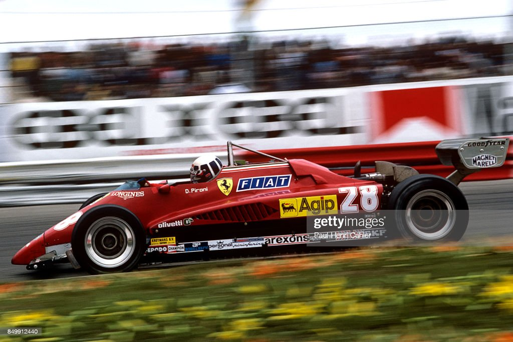 Didier Pironi, Grand Prix of the Netherlands : News Photo
