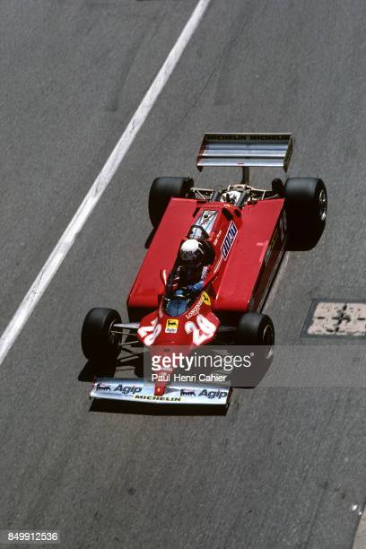 Didier Pironi, Ferrari 126CK, Grand Prix of Monaco, Circuit de Monaco, Monaco, May 31, 1981.