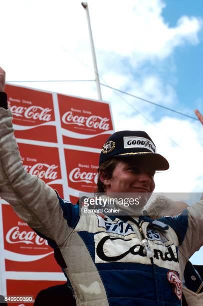 Didier Pironi, Ligier-Ford JS11/15, Grand Prix of Belgium, Circuit Zolder, Heusden-Zolder, Belgium, May 4, 1980.