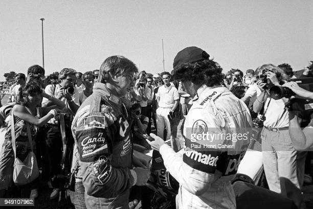 Didier Pironi, Nelson Piquet, Grand Prix of France, Circuit Paul Ricard, 25 July 1982.