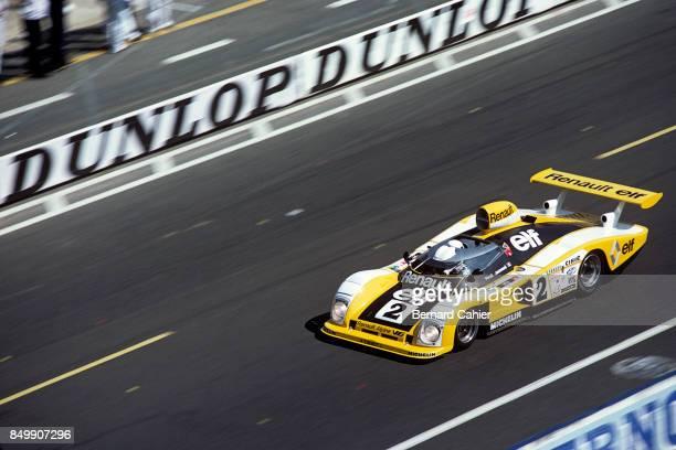 Didier Pironi, Renault-Alpine A443, 24 Hours of Le Mans, Le Mans, France, 1978.