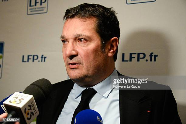 Didier Quillot executive general manager of Football French League during the General Meeting of the Football French League at French Football...