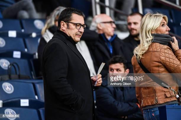Didier Quillot executive general manager of LFP during the Ligue 1 match between Paris Saint Germain and Nantes at Parc des Princes on November 18...