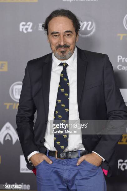 Didier Roustan attends the Ballon D'Or ceremony at Le Grand Palais on December 3 2018 in Paris France