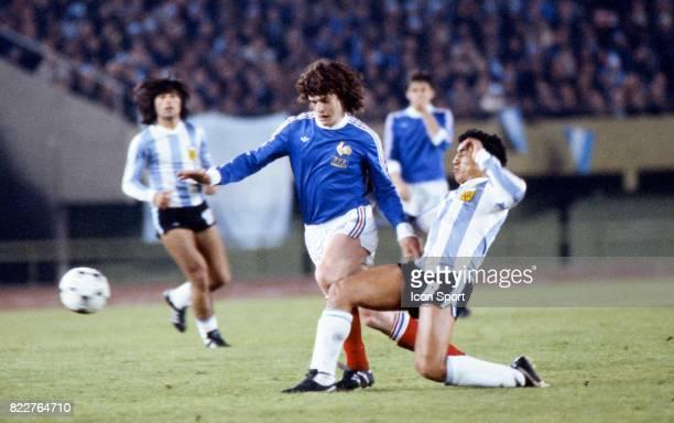 Didier SIX Argentine / France 1er Tour Coupe du monde de football de 1978 Estadio Monumental Buenos Aires