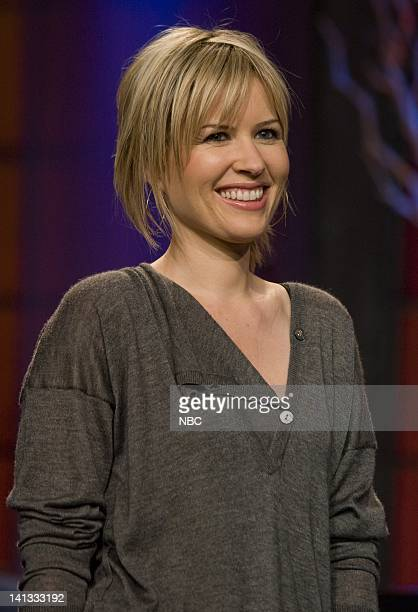 LENO Dido Air Date Episode 3653 Pictured Musical guest Dido on November 10 2007 Photo by Paul Drinkwater/NBCU Photo Bank