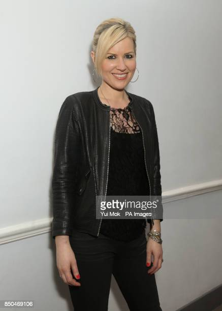 Dido backstage after performing a set exclusively for Magic FM at Claridge's Hotel in central London