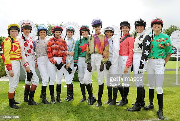 Dido Harding Philippa Holland Gina Bryce Alysen Miller Francesca Cumani Harriet Bond Edie Campbell Emma Spencer Rosemary Ferguson Trish Simonon and...