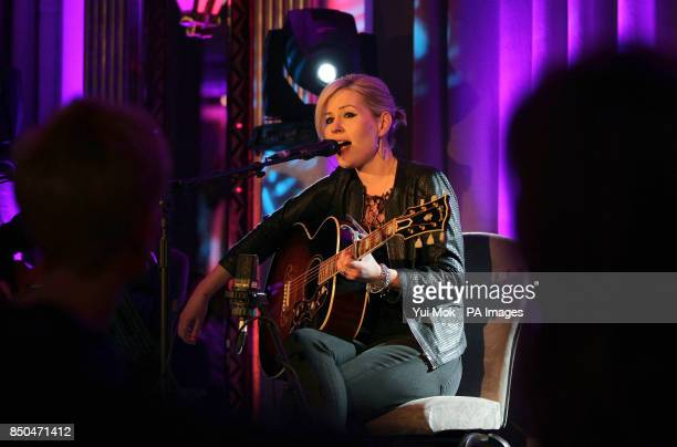 Dido performing a set exclusively for Magic FM at Claridge's Hotel in central London