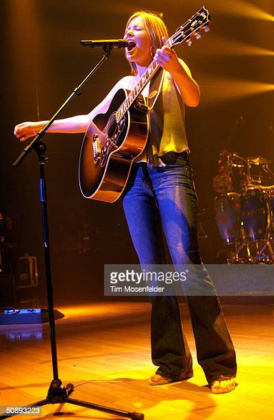 Dido performs part of her Life for Rent Tour 2004 at the Berkely Community Theater on May 23 2004 in Berkely California