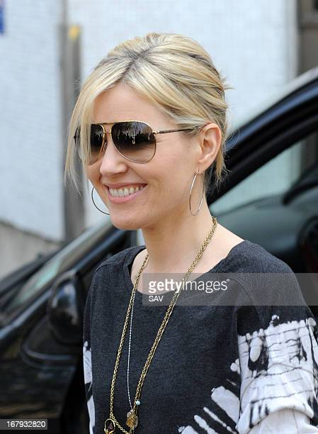 Dido pictured at the ITV studios on May 2 2013 in London England