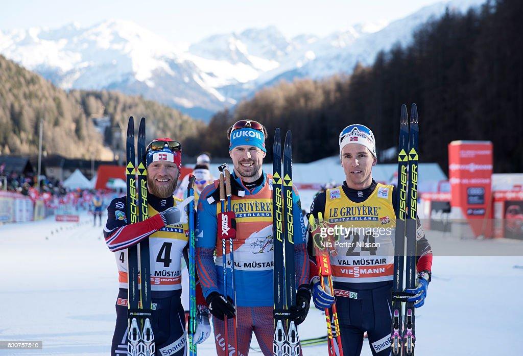 FIS Tour De Ski Val Mustair - Men's 10 km C race : News Photo