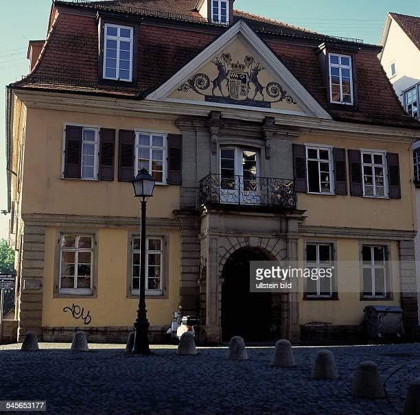 Die Alte Aula an der Münzgasse einst Zentrumder 1477 gegründeten Universität Aufnahme 2001